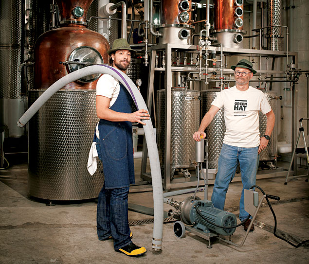 A New Green Hat in Town: DC's First Microdistillery