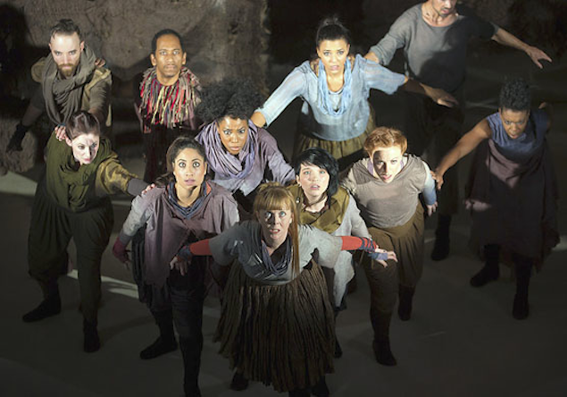 """Theater Review: """"The Conference of the Birds"""" at Folger Theatre"""