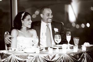 Real Wedding: Chandra and Adam