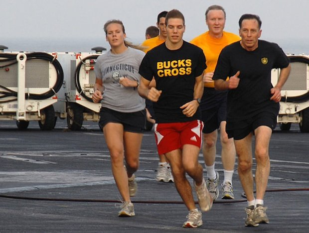 "Running Together ""Sealed the Deal"" Between General David Petraeus and Paula Broadwell"