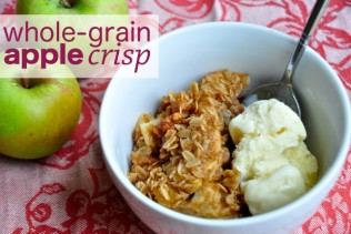 ... Dessert: Whole-Grain Apple Crisp With Nuts, Dried Fruit, and Ginger