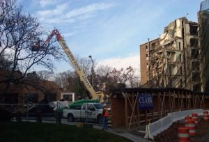 External Demolition Begins on Former Chinese Embassy Building