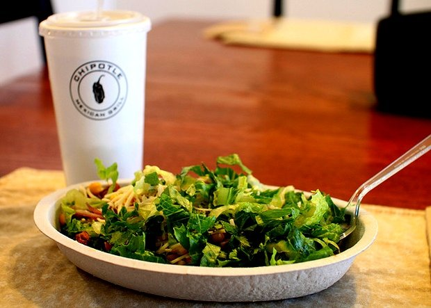 The Healthiest Lunches At Qdoba Chipotle Baja Fresh And Other