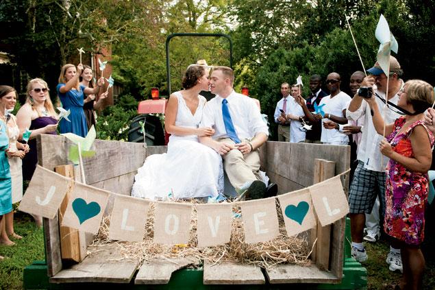 Real Wedding: Lauren and Derek