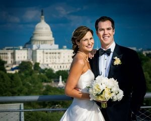Real Wedding: Alison and Peter