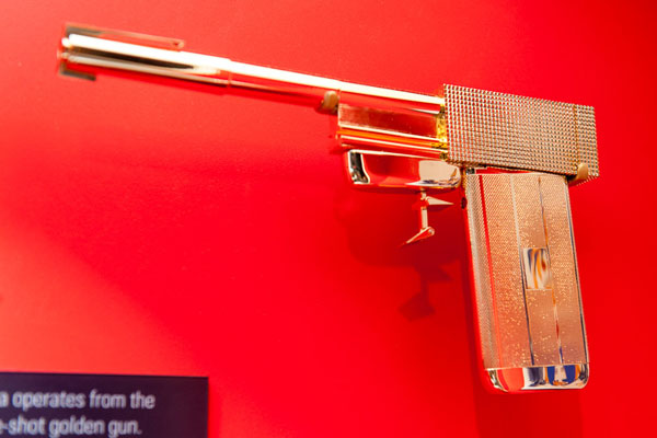 The International Spy Museum's New Exhibition Pays Tribute to 50 Years of James Bond Villains