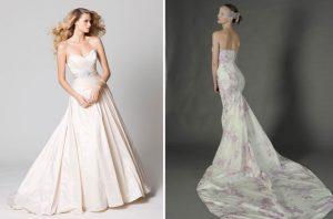 Wedding Gown Trend: Think Pink
