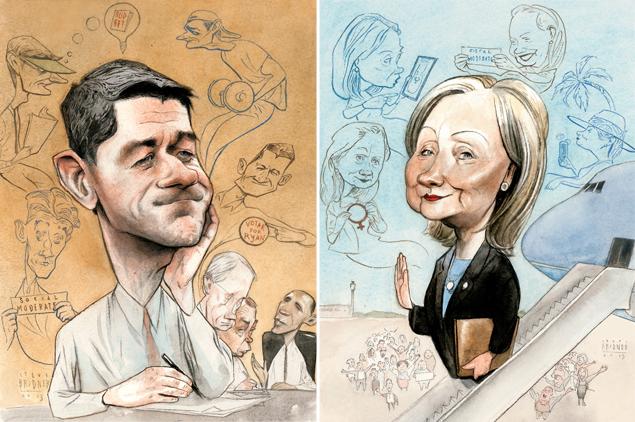 Looking Ahead to 2016: Hillary Clinton vs. Paul Ryan?