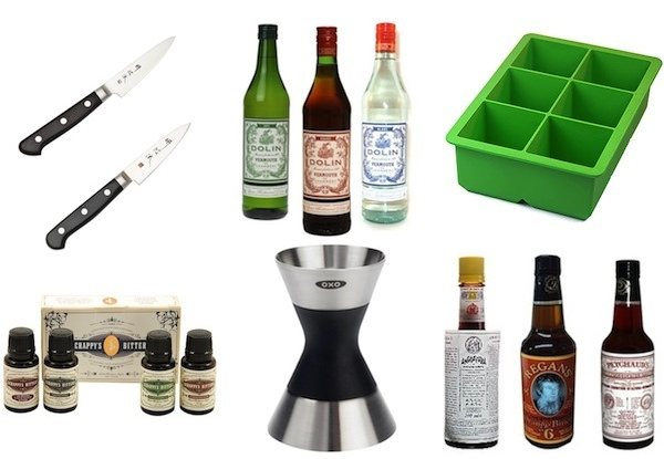 Food Lover's Gift Guide: Essential Home Bar Tools and Bottles