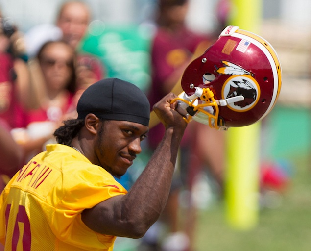 Robert Griffin III Is Out of Surgery