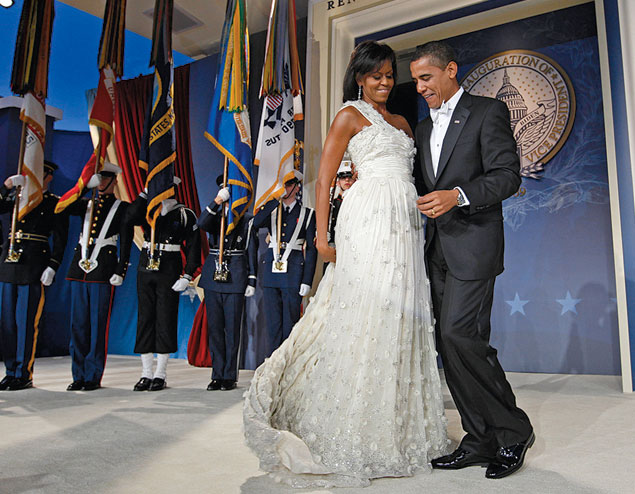 Where to Find Inspiration (and Lower Price Tags) for Inauguration Gowns