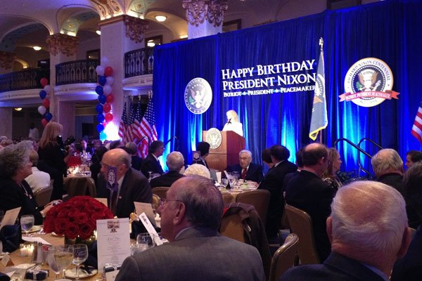 A Gala for Richard Nixon on His 100th Birthday (Photos)