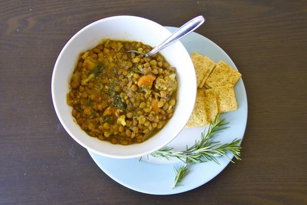 Healthy Recipe: Slow Cooker Moroccan Lentil Soup