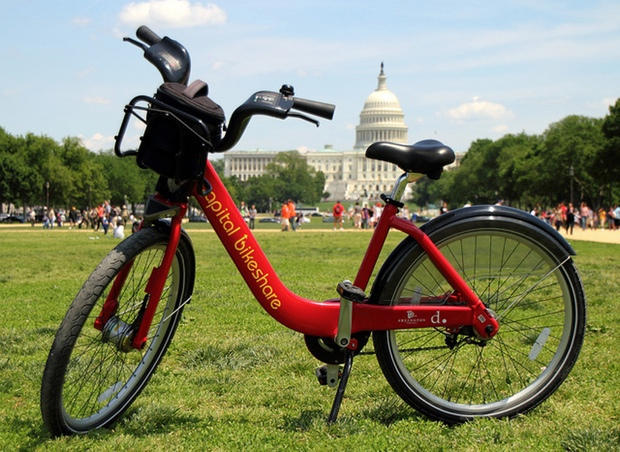 Where to Park Your Bike During Inauguration
