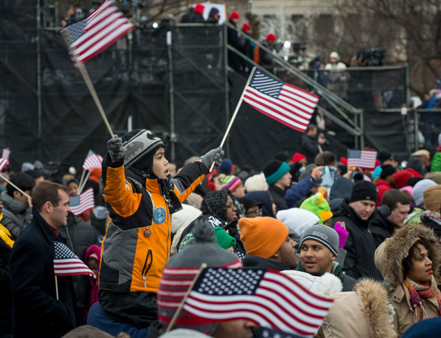 Scenes From the 2013 Swearing-In Ceremony and Parade