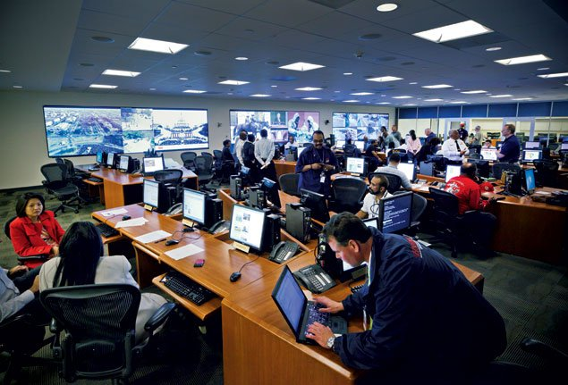 Behind the Scenes: Inside the DC Mayor's Command Center