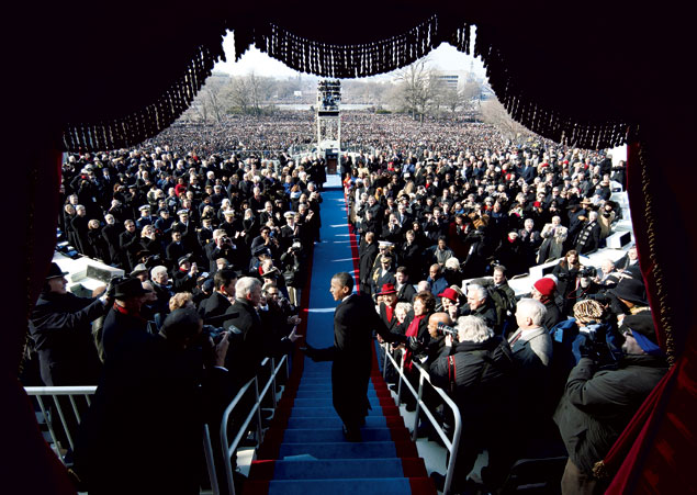 Making History: Memorable Moments From President Obama's First Term