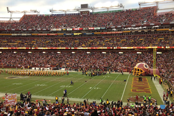 A Firsthand Account of Attending Sunday's Redskins-Seahawks Game