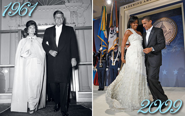 American Style: First Lady Inaugural Ball Gowns