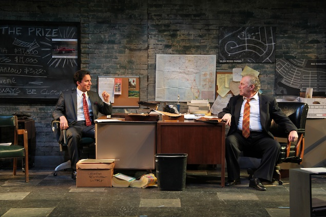 """Theater Review: """"Glengarry Glen Ross"""" at Round House Theatre"""