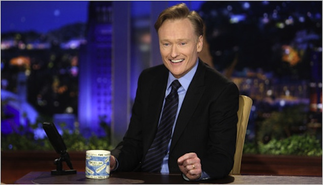 Conan O'Brien Named Host of the 2013 White House Correspondents' Association Dinner