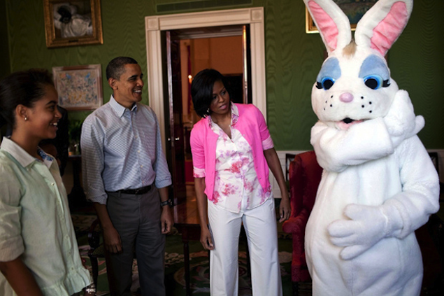 The White House Easter Egg Roll Is Monday, April 1