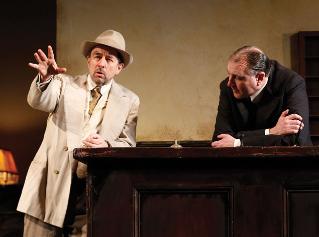 "Theater Review: ""Hughie"" at Shakespeare Theatre Company"