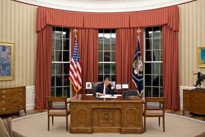 Obama Moving to a Second Oval Office