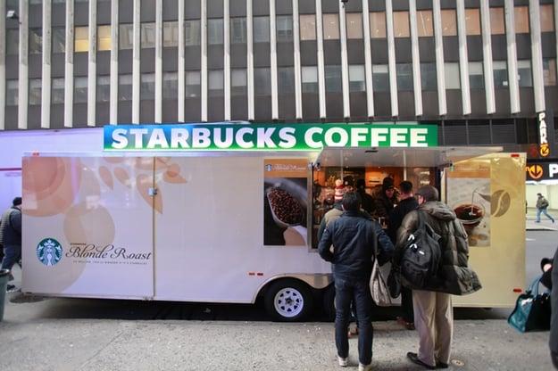 Starbucks Giving Away Free Coffee