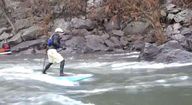 Hang 10? Surfing the Potomac River