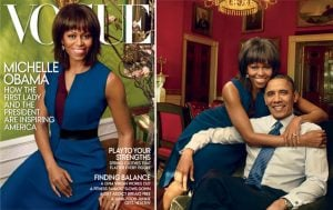 """Michelle Obama Appears on the Cover of """"Vogue"""" for the Second Time"""