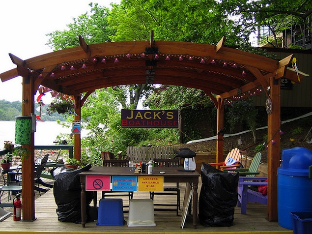 The Battle for Jack's Boathouse Rocks the Riverfront