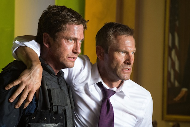 """The """"Olympus Has Fallen"""" Cast Comes to Town, Mayhem Ensues"""