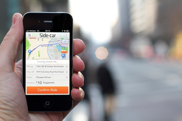 Ride-Sharing App SideCar Comes to DC