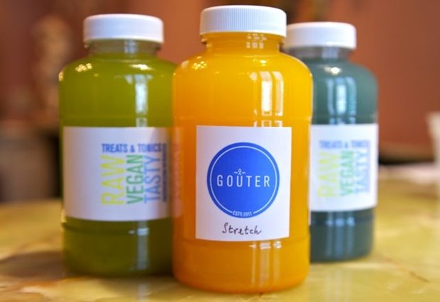 Goûter Tonics Take Over the Raw, Vegan Market in Washington