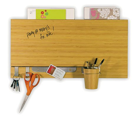 Bamboo Dry-Erase Channel Panel, $49 at seejanework.com