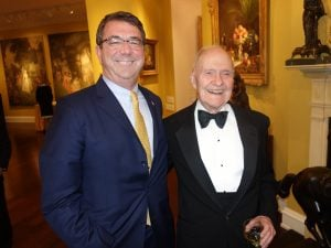 The Pupil and the Master: Ash Carter Pays Tribute to Brent Scowcroft