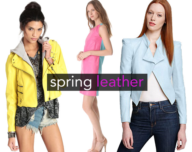 Trend Spotting: Warm-Weather Leather (Photos)