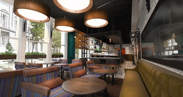 Take An Exclusive Look Inside Nopa Kitchen Bar Renderings Washingtonian