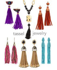 Mini Trend: Swingy Tassel Jewelry
