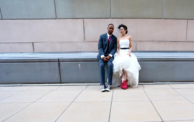Real Wedding: Kathleen and James