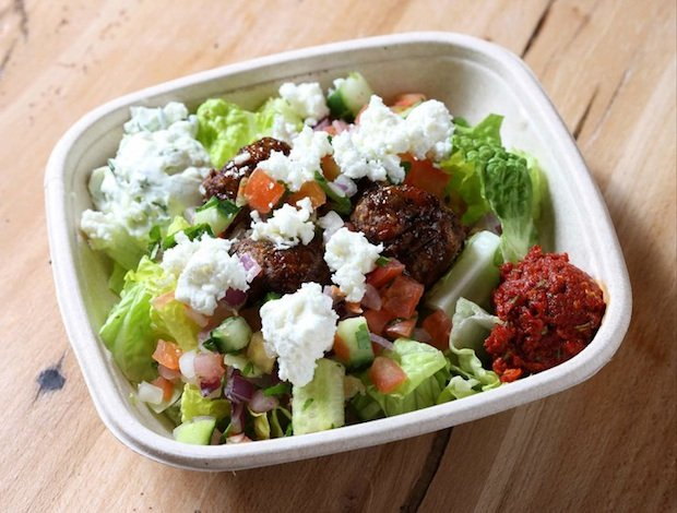 Lunch Break: The Healthiest and Worst Pitas and Bowls at Cava Mezze Grill