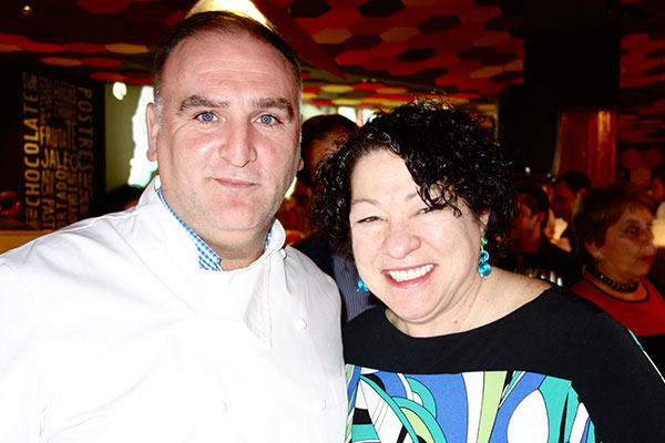 José Andrés Marked Jaleo's 20th Anniversary With a Festive Party (Photos)