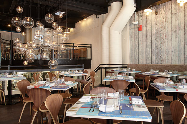 Check Out New Penn Quarter Seafood Spot Azur