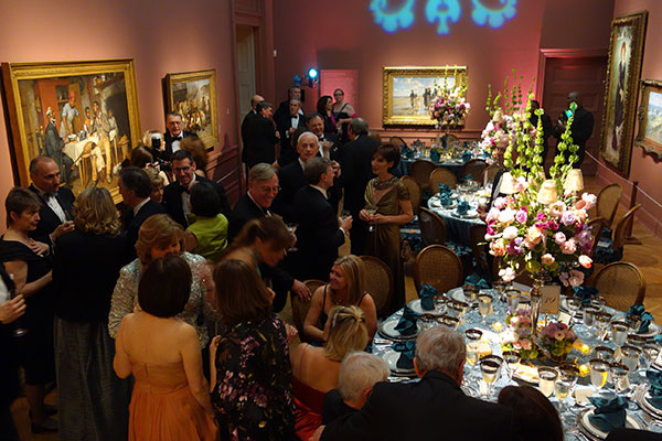 "Boycott Drama Gives the Corcoran Ball a ""Downton Abbey"" Dynamic"