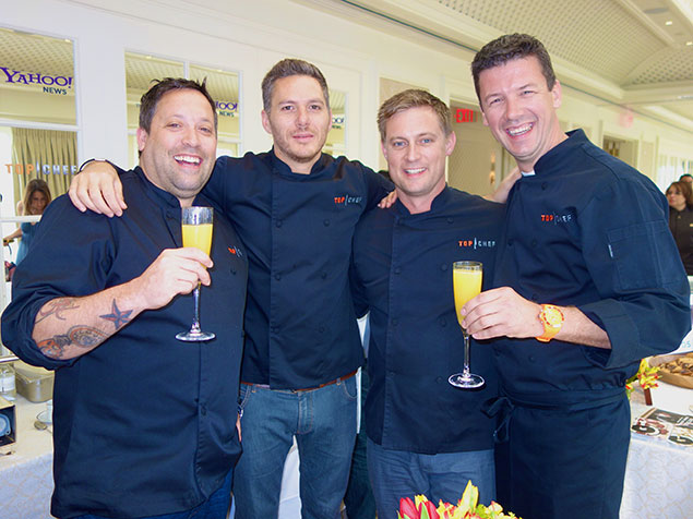 """The Former McLaughlin Brunch Rescued by a Quartet of """"Top Chefs"""""""