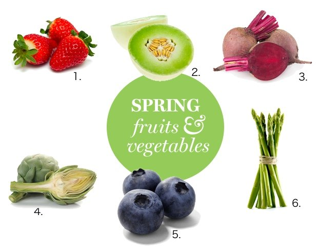 Nutritionists' Favorite Spring Fruits and Vegetables
