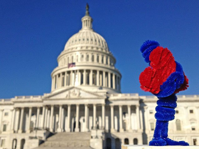 Spotted Around DC: The Little Heart Man (Pictures)