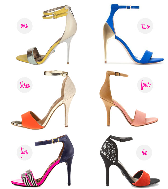 The Spring It Shoe: Ankle-Strap Sandals