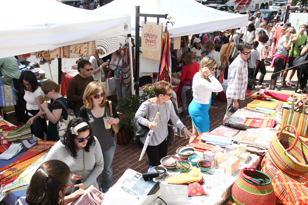 Fashion Agenda: Book Hill's French Market, A Clothing Swap, Tax Day Deals